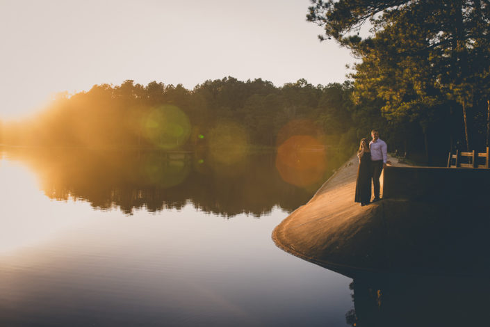Lakeside Couples Engagement Photography